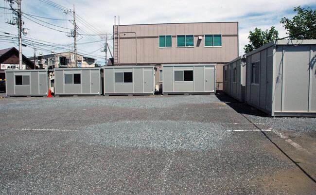 衣裳プレハブ倉庫(プレハブ倉庫11棟)
